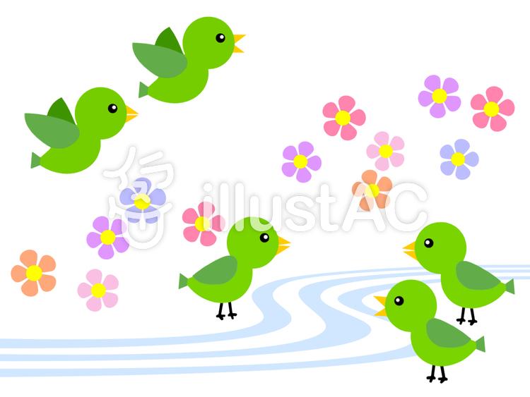 小鳥 和風 ピンク イラスト 可爱い 背景 Wwwthetupiancom