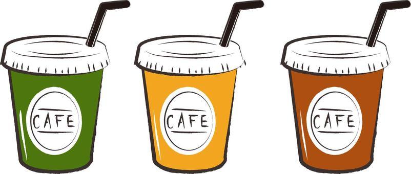 카페 아이스 음료