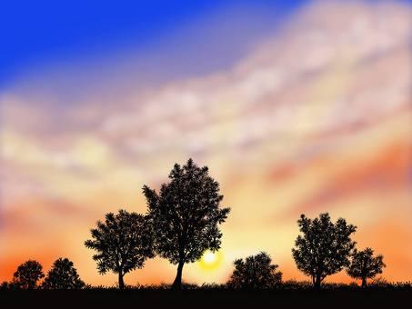 Dawn background