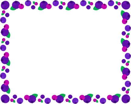 Blueberry _ bright frame