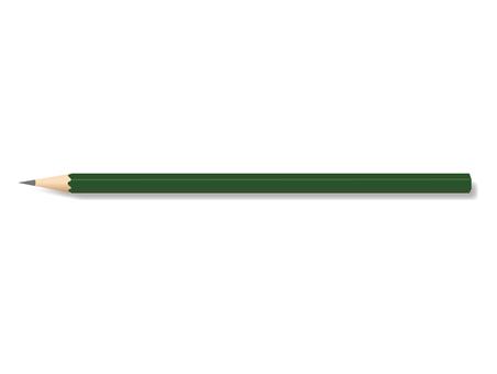 실제 연필 일러스트