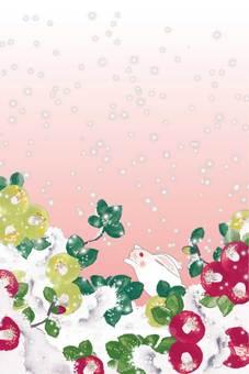 Flower _ Camellia _ Usagi white