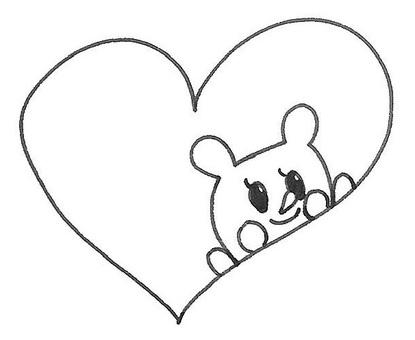 Kuma-chan from heart