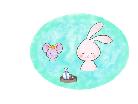 Hot spring rabbit 2