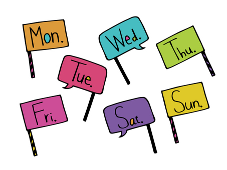 The day of the week