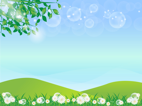 Fresh green background 7