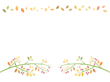 明亮的葉子的插圖