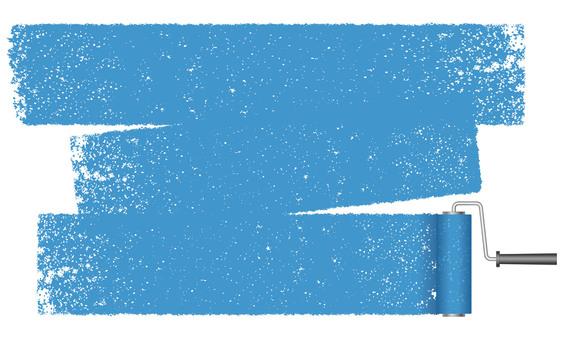 用油漆滾筒塗背景圖