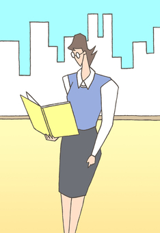 Business woman. 6