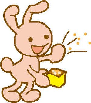 Usagi in rabbits