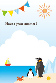 Hot summer penguins