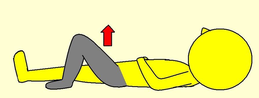 Left leg swing bridge movement 1