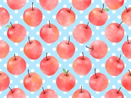 Watercolor apple wallpaper