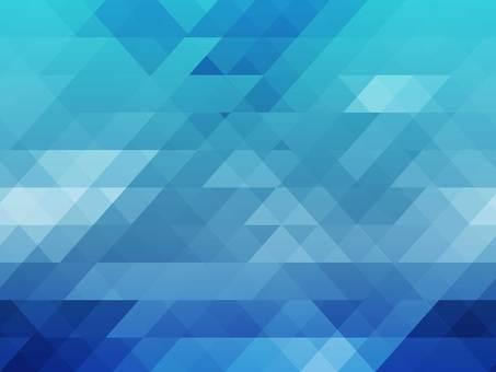 Polygon mosaic blue