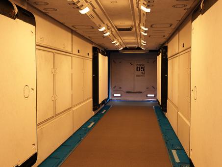 Spaceship passage