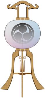 Tray lamp