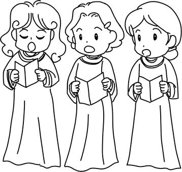 Chorus (line drawing)