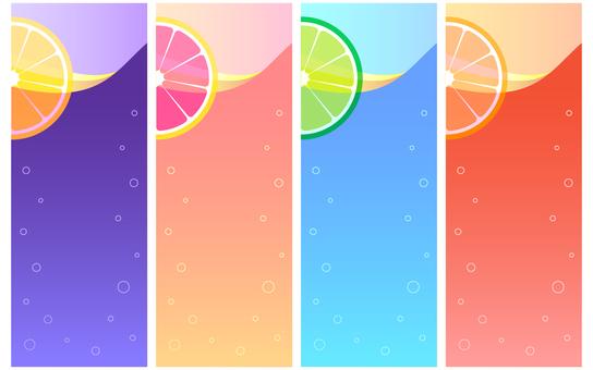 Cocktail-like frame