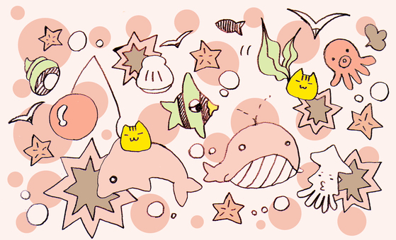 ■ The sea of ​​cats ■