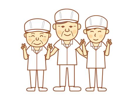 Cooking staff (Senior 1)