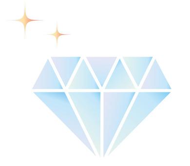 Rainbow-colored diamonds