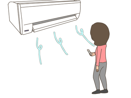 Female, air conditioning, air conditioning