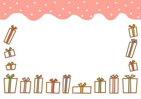 Gift box ① Pink