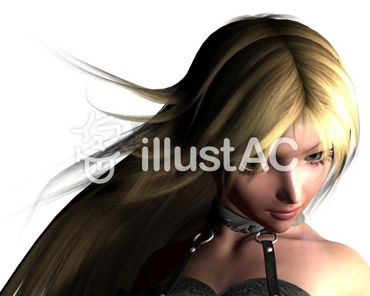 女性戦士のイラスト