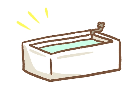 Simple bathtub