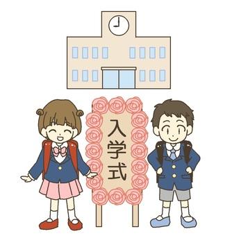 Admission type (primary school students)