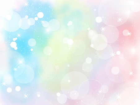 Soap bubble polka dot frame 4
