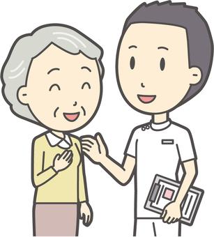 看護師と会話-019-バスト