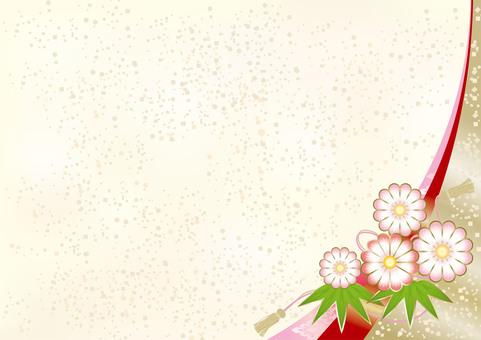 New Year's Pattern Chrysanthemum 6