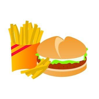 Hamburger shop