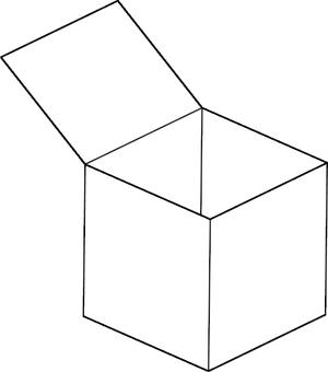 An empy box