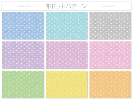 Cloth dot pattern