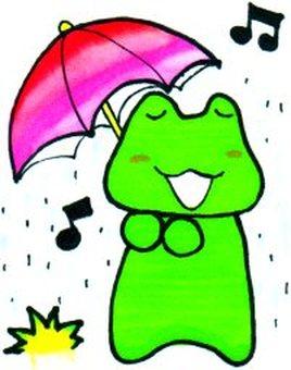 To change an umbrella
