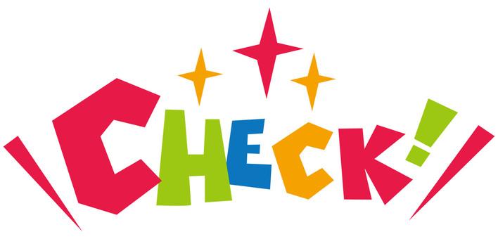CHECK! ☆ check! ☆ Logo icon
