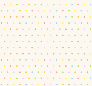 カラフルパターン - 丸S