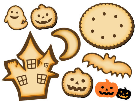 Halloween icon cookie