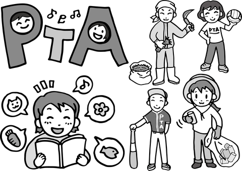 Illustration set of PTA