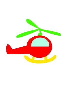 Helicopter (Red)