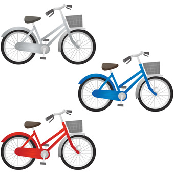 Bicycle 3 colors