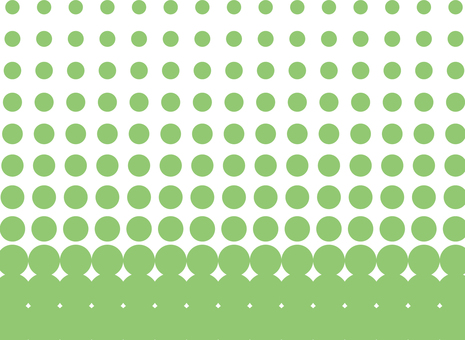 Dot pattern 1 green