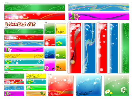 Banner various sizes