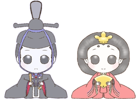 Inside and behind the doll
