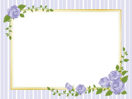 Purple rose frame frame style frame decorative frame 01