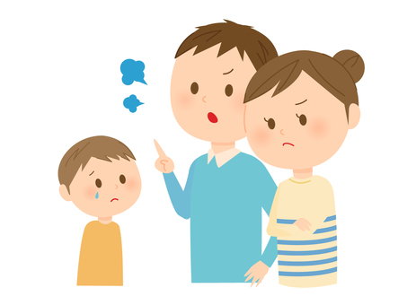 Children to be scolded
