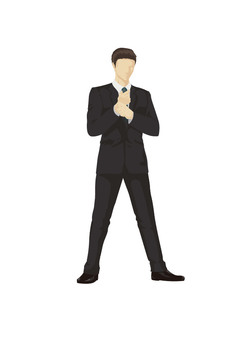 Suit illustrations (men)