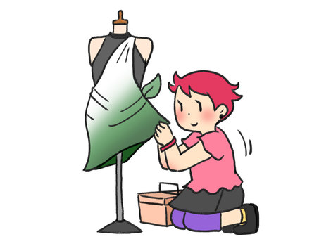 Garment designer to fix